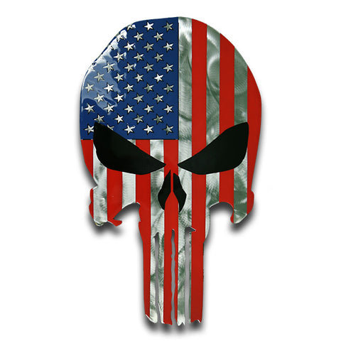 American Liquid Metal American Skull Sign