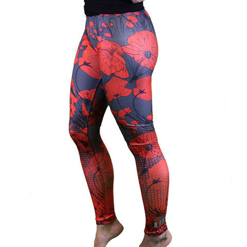 PREORDER Get Fit Or Die: WOMEN'S Poppy Leggings