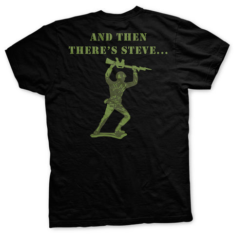 Green Army Man Normal Fit T-shirt