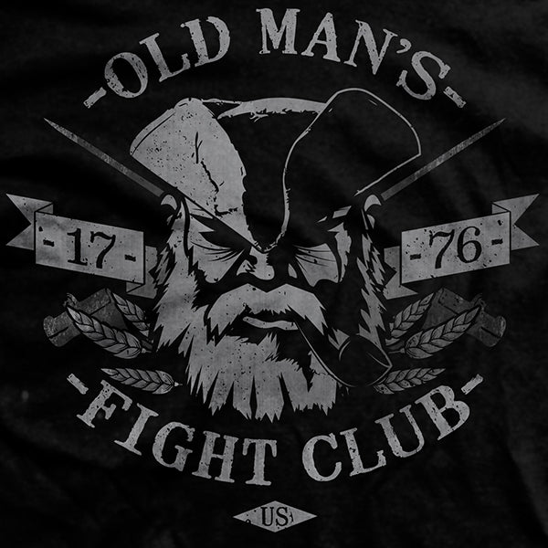 Old Man S Fight Club Normal Fit T Shirt Ranger Up