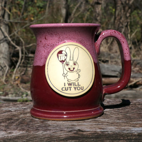 I Will Cut You Stoneware Mug