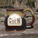 Caffeine and Hate Stoneware Mug