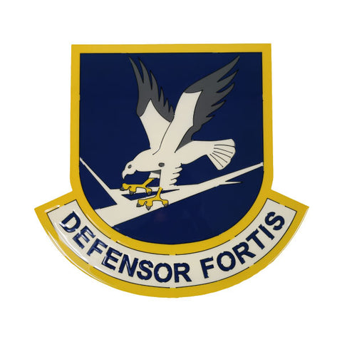 American Liquid Metal - Defensor Fortis Sign