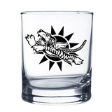 Flying Tigers Whiskey Glass