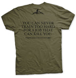 Invictus BJJ Custom Green T-Shirt