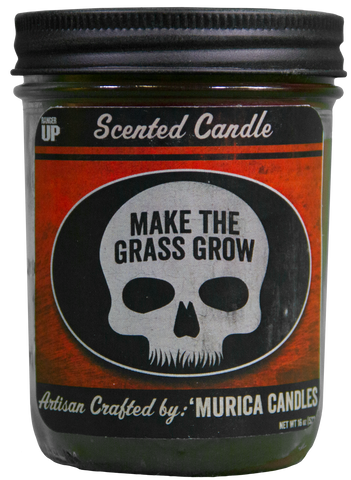 Make The Grass Grow 'Merica Candle