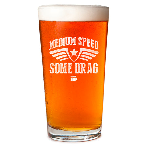 Medium Speed Pint Glass