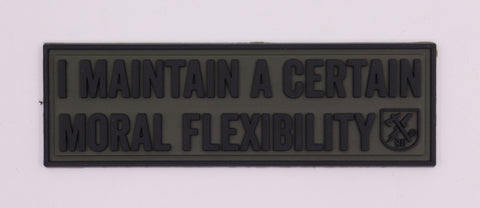 Moral Flexibility PVC Patch