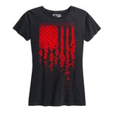 WOMEN'S Poppy Flag T-Shirt
