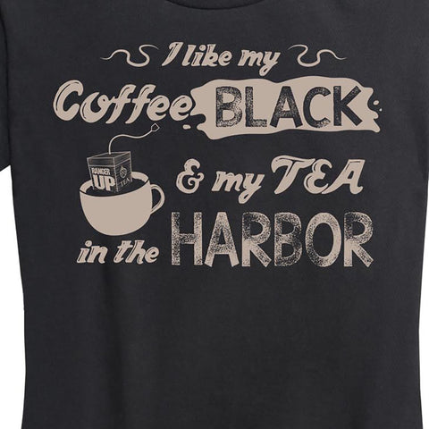 WOMEN'S I like My Coffee Black Shirt