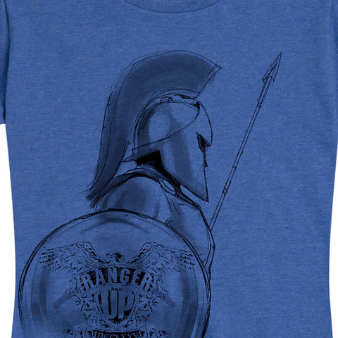 Women's Blue Spartan Tee