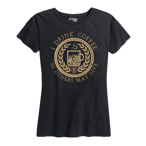 Women's I Drink Coffee Tee