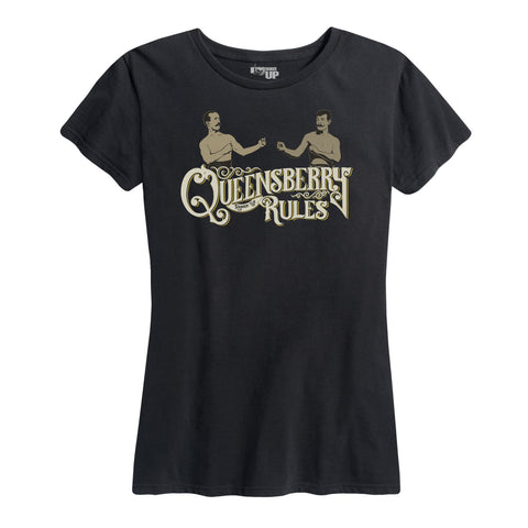 WOMEN'S Queensbury Rules Tee