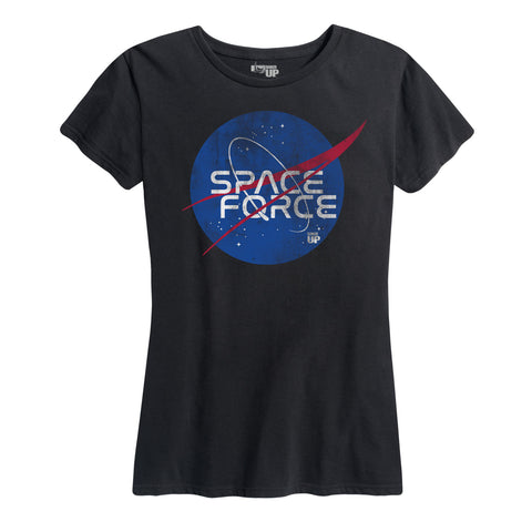 Women's Space Force Logo Tee