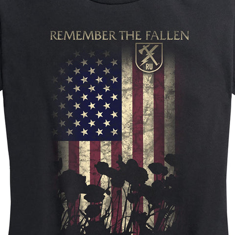 Women's Remember The Fallen Tee
