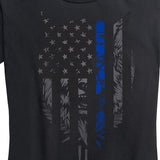 Women's Thin Blue Line Destruction Cometh Tee