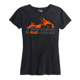 Womens Raze a Village T Shirt