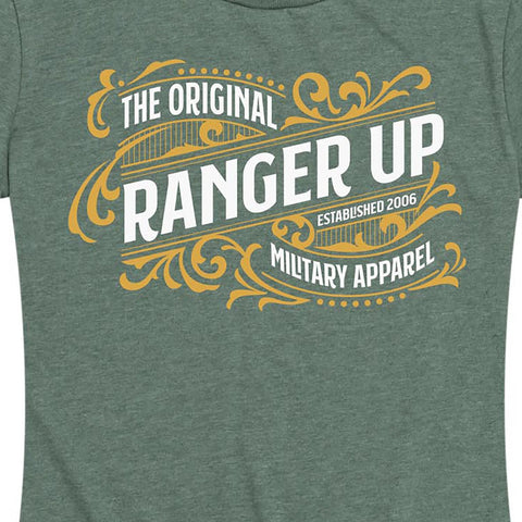 Women's Vintage Ranger Up Tee Green