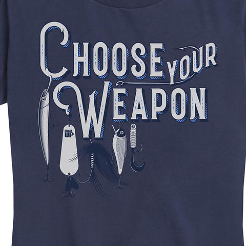 Women's Choose Your Weapon Tee