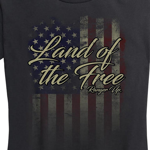 Women's Land of The Free Tee