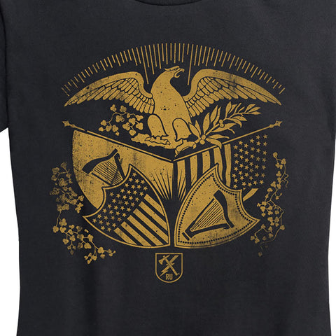 Women's Harp and Eagle Tee