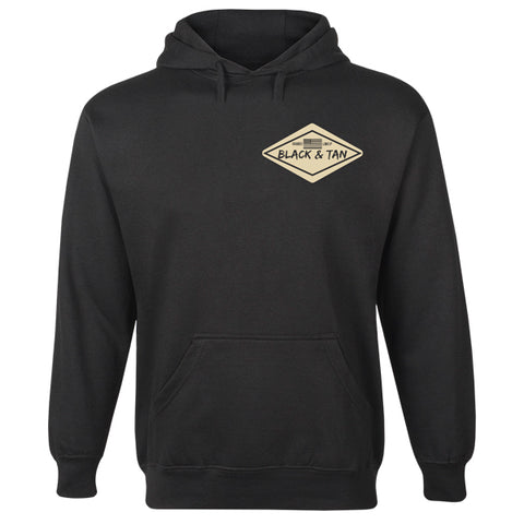 Darby Project Black and Tan Hoodie