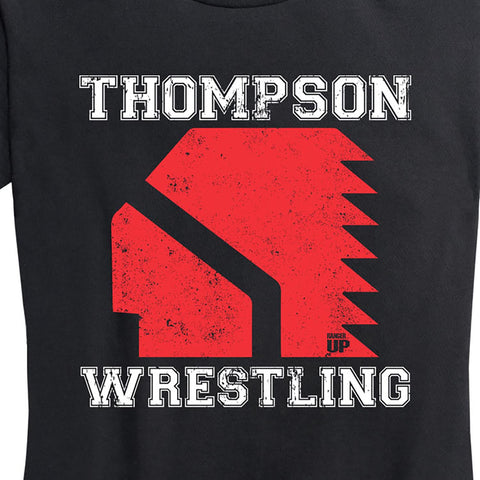 Women's Thompson Wrestling Club T-Shirt