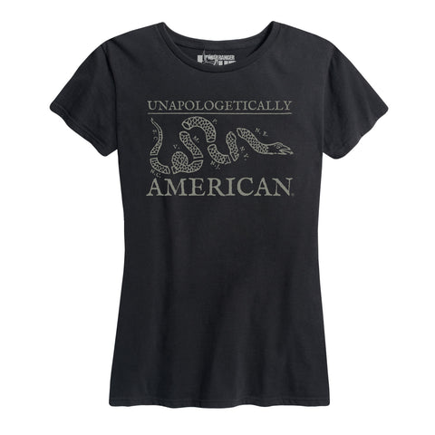 Women's Unapologetically American Join Or Die Snake Tee