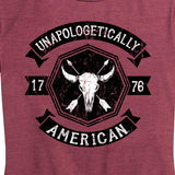 Women's Unapologetically American Bison T-Shirt