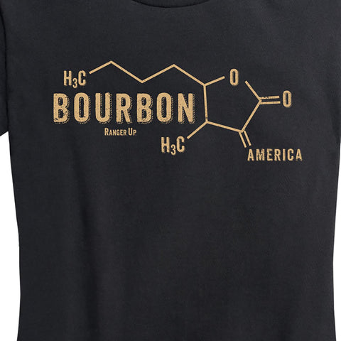 Women's Bourbon Molecule T-Shirt