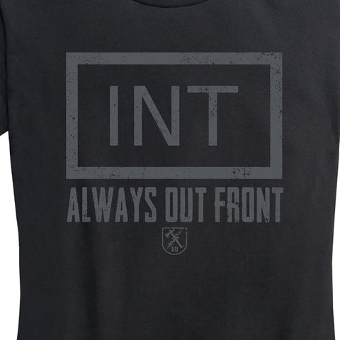"Women's Military Intelligence ""Always Out Front"" Tee"