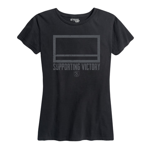 "Women's Quartermaster Corps ""Supporting Victory"" Tee"