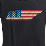 Women's U.S. Flag Tennessee Tee