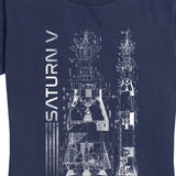 Women's NASA Saturn V Tee