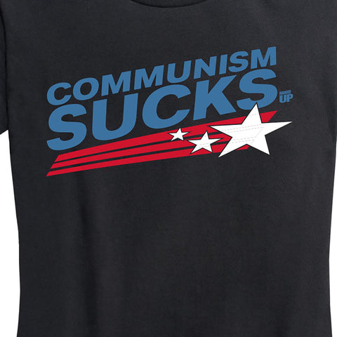 Women's Communism Sucks Tee
