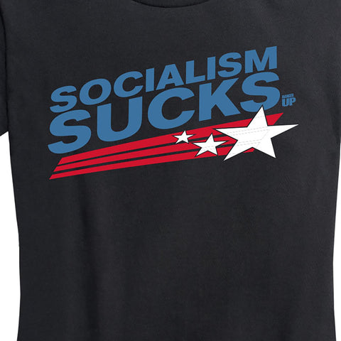 Women's Socialism Sucks Tee