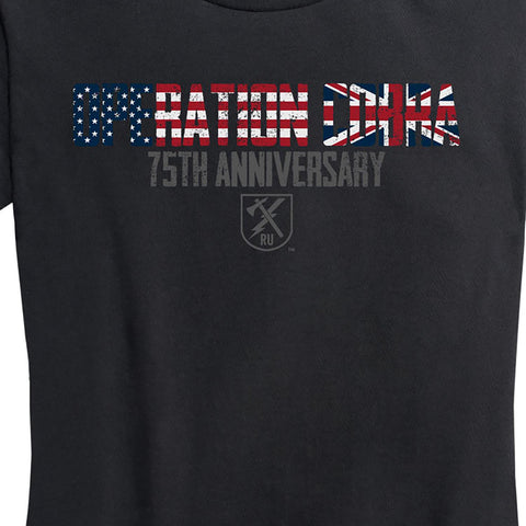 Women's Operation Cobra 75th Anniversary Tee