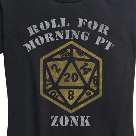 Women's Critical 20 - Zonk Tee