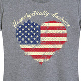 Women's Heart of Old Glory Tee