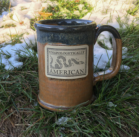 Join or Die Stoneware Mug