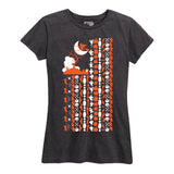 Women's Halloween Fun Flag T-Shirt