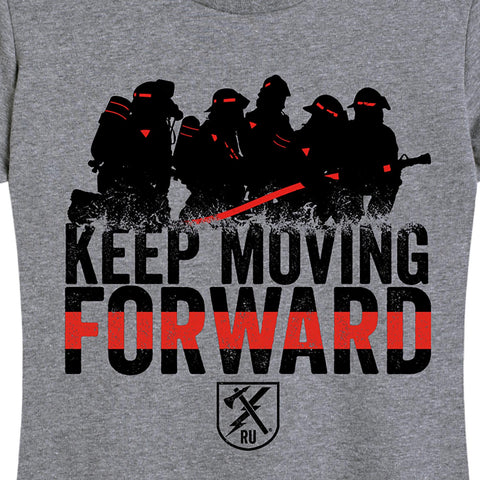 Women's Keep Moving Forward (Fire) Tee