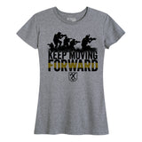 Women's Keep Moving Forward (Army) Tee