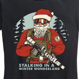 Women's Stalking in a Winter Wonderland Tee