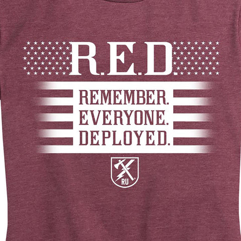WOMEN'S Red Friday Honor T-Shirt