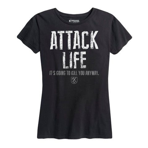 WOMEN'S Attack Life Tee