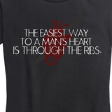 WOMEN'S Way to a Man's Heart Tee