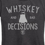 WOMEN'S Whiskey and Bad Decisions Tee
