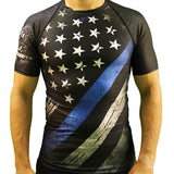 Thin Blue Line Rash guard