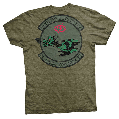 GOEF: 1st SO Squad- Military Green